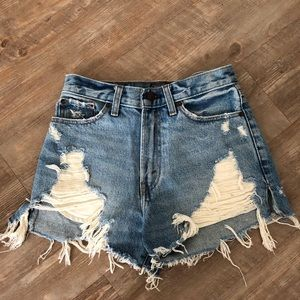 Abercrombie Jean shorts 24